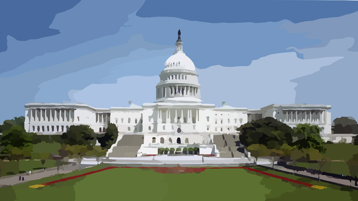 illustration of the U.S. Capitol Building in Washington, D.C.