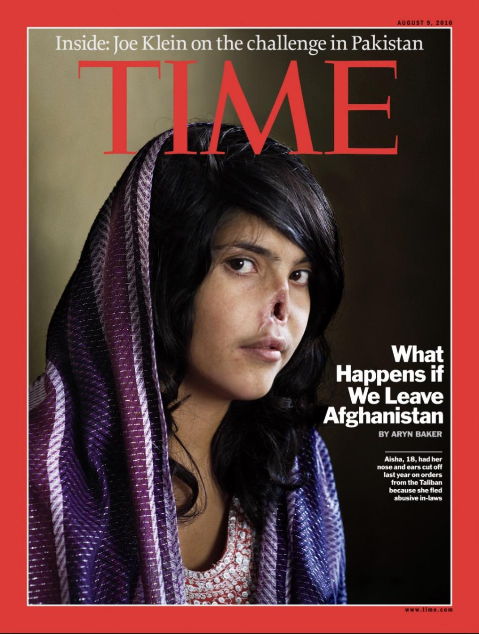 Time Magazine Cover Center for the Study of Religion and Conflict Bibi Aisha