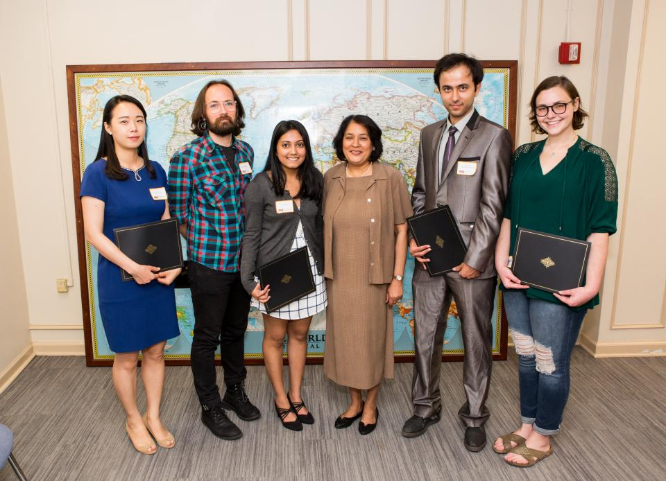 2019 Friends of the Center Research Award Winners